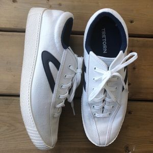 Tretorn Nylite Plus Blue Sneakers Runners Shoes